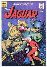 Adventures of the Jaguar #2 October 1961 FN- classic sci-fi cover