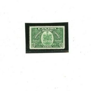 CANADA SPECIAL DELIVERY Stamp # E7  MVLH  (1) F-VF 1938-39 issue  10 cents