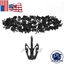 50 PCS For Chevy GMC Colorado Canyon Grille Retainer Clips Black Plastic 2004-12