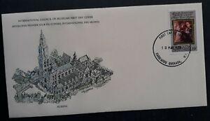 1978 Grenada Peter Paul Rubens Anniv FDC ties 35c Stamp cd Carriacou