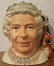 Royal Doulton Large Queen Elizabeth Ii D7256 (2006 Character Jug Of The Year).