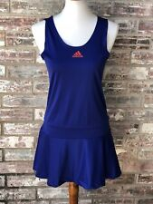 Adidas Womens Formotion Dress Size Medium Adipure Blue Tennis