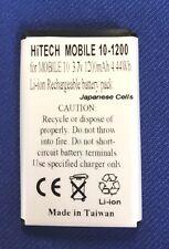 Hitech battery(Japan Lion1.2A)for GARMIN #010-10840-00...Mobil 10 GPS series eq