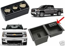 Portable Coin Holder Dispenser ONLY For 2014-2016 Silverado Sierra Tahoe Yukon