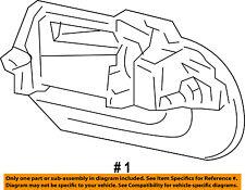 Lincoln FORD OEM Navigator Rear Door-Handle Outside Exterior Left 9L7Z7826605AD