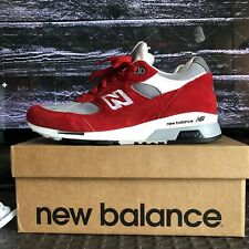 New Balance 991.5 US Men's Shoes Size 9 Red Suede M9915AA MADE IN ENGLAND