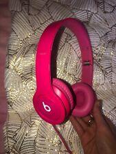 Beats by Dr. Dre Solo2 Headband Headphones - Pink