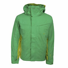 Quiksilver Men's Mission Plus Snowboarding Jacket Bright Green/Yellow L