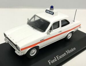 ATLAS BEST OF BRITISH POLICE CARS 1/43 FORD ESCORT MKI MK1 MEXICO SUSSEX POLICE