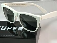 RetroSuperFuture Classic White Frame Sunglasses SUPER 001 NIB FAST SHIP