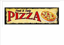 Amerikanischer Retro-stil Diner-zeichen Café-schild Pizza Retro-zeichen