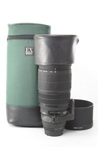Sigma 120-300mm f/2.8 D APO HSM EX Lens for Nikon - With Pouch, Hood and Caps
