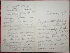 OLIVER HERFORD AUTOGRAPHED / SIGNED 4 Page Letter American Author Artist