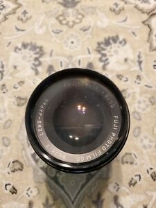 Fuji Fujinon 55mm f/1.8 for M42 Screw Mount MF Lens from Japan As is