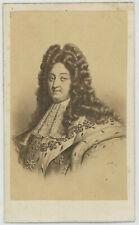 CDV. Le Roi de France et de Navarre Louis XIV. Desmaisons, Paris.