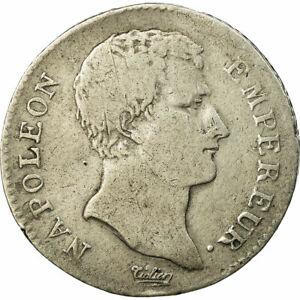 [#513514] Coin, France, Napoleon I, Franc, AN 13, Paris, VF(20-25), Silver