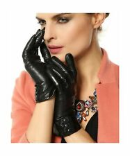 Warmen Women's Touchscreen Texting Driving Winter Warm Nappa Leather Gloves (...