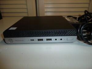 HP PRODESK 600 G3 MINI i5 7500T 8GbRam, 256Gb SSD WIN10 PRO WIFI