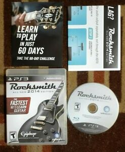 Rocksmith All New 2014 Edition (Sony PlayStation 3, 2011) VG Shape & Tested