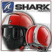casque moto shark red size xs