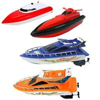 Remote Control Boat Speed Electric Toy Model Ship Sailing Kid Game Boy Xmas Gift
