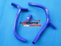 BLUE For HONDA CRF450R CRF450 R 2009 2010 2011 2012 SILICONE Radiator Y Hose