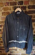 Vintage Stone Island Marina washed Denim Chore Shirt Jacket Black Xl