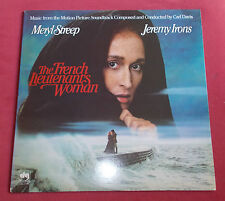 THE FRENCH LIEUTENANT'S WOMAN BOF LP USTHE FENCH  CARL DAVIS