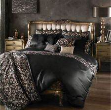 Satin Buttoned Solid Bedding Sets & Duvet Covers