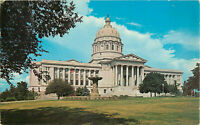 Postcard State Capitol Building, Jefferson City, MO