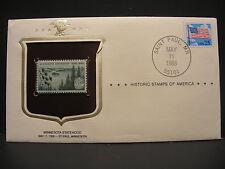 HISTORIC STAMPS OF AMERICA - SCOTT#1106 FDC -MINNESOTA STATEHOOD  (R3089)