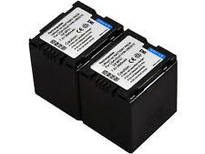 2x Battery for Panasonic CGA-DU21 DU21A DU21A/1B DU21E/1B DU07 DU14 VW-VBD210