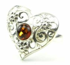 Anelli di lusso con gemme ambra Misura anello 12