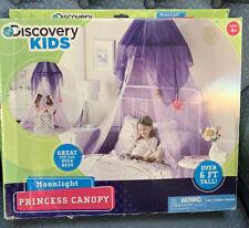 PRINCESS CANOPY MOONLIGHT PINK/PURPLE DISCOVERY KIDS PRETEND SUPER CUTE FUN!!
