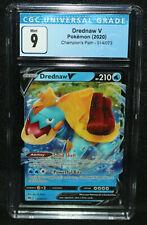 Pokemon Drednaw V Champion's Path 14/73 (CGC Mint 9) 2020