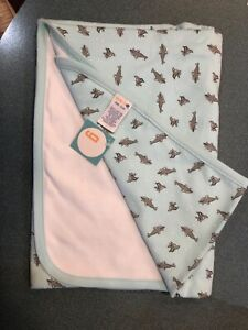 Dolphins Recieving Blanket - New w/Tags Gymbore Vintage NWT 2000