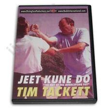 Bruce Lee Jeet Kune Do Way Intercepting Fist Jun Fan Dvd Tim Tackett Rs-0461 Jkd