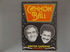 1982 CANNON & BALL PROGRAMME - HAND SIGNED BY TOMMY CANNON & BOBBY BALL