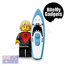 LEGO Minifigures 71018 - Series 17 - No.1 Professional Surfer - Brand New