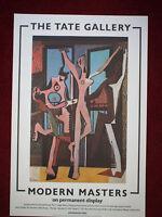 "ORIGINAL TATE GALLERY PICASSO EXHIBITION 1985 POSTER VINTAGE & RARE 30""X20"""