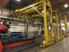 5 Ton Pittsburgh Single Leg Single Girder Gantry Crane Yoder 67228
