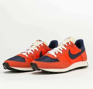Nike Challenger OG Team Orange Navy CW7645-800 Running Shoes Sneakers
