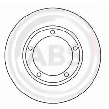 Disco freno (2 pezzi) - A.B.S. 16562