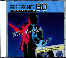 F.R. DAVID - BEST OF - REFERENCE 80 - CD ALBUM NEUF ET SOUS CELLO