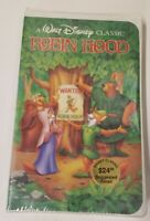 Robin Hood VHS Walt Disney Black Diamond Classic SEALED