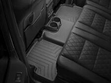 WeatherTech FloorLiner Floor Mats for Toyota Yaris 2015-2018 2nd Row Black