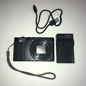 Panasonic Lumix DMC-ZS50 Camera Black w/ Battery and Charger