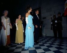 President and Mrs. John F. Kennedy reception in Mexico City 1962 New 8x10 Photo