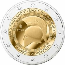 2 Euro GRECIA 2020 2500° DELLA BATTAGLIA DELLE TERMOPILI - 2 € Commemorativo