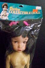 "Darice Collectible Doll 15"" Porcelain Look Doll Long Hair Kim"